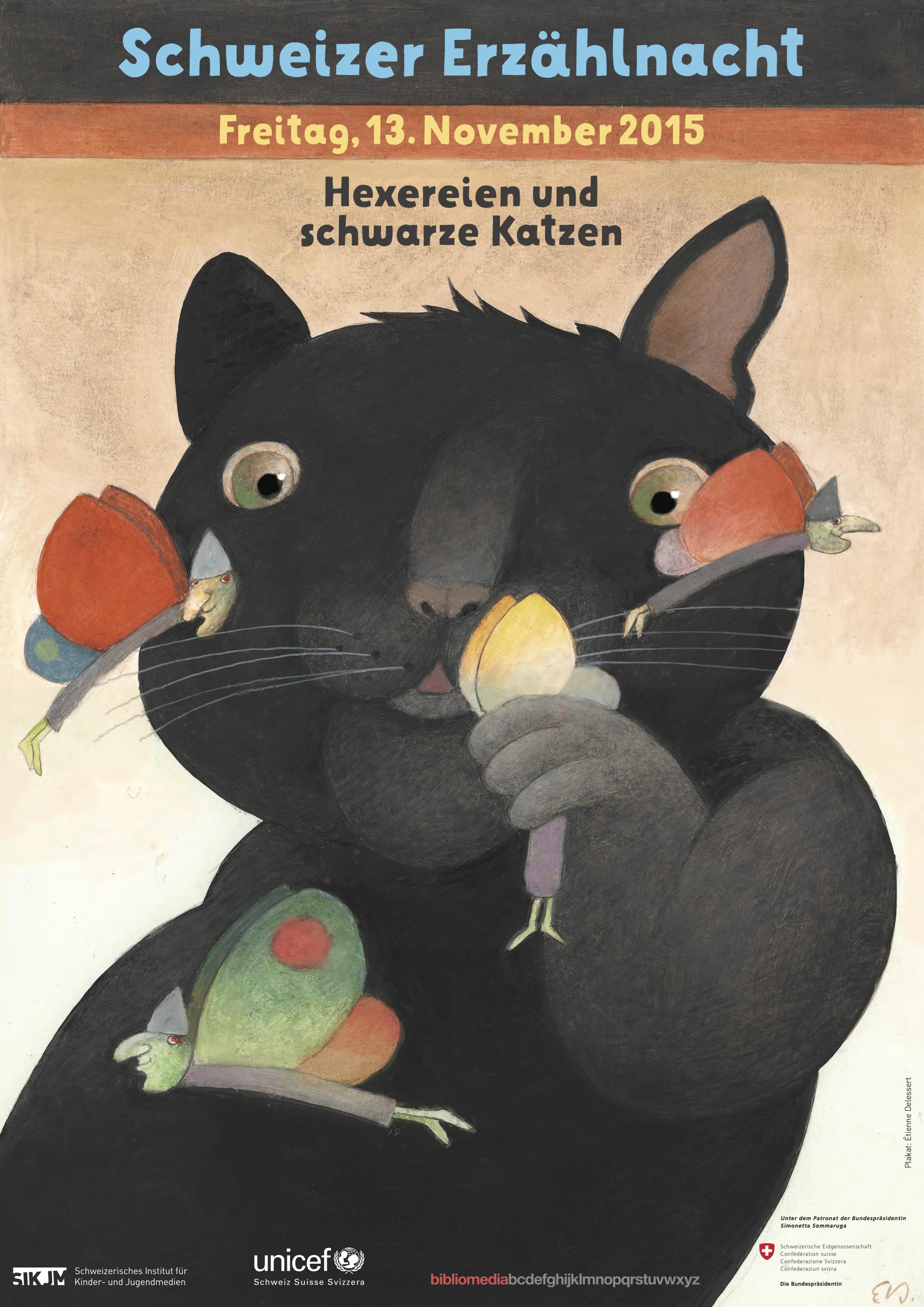 Plakat Erzählnacht 2015