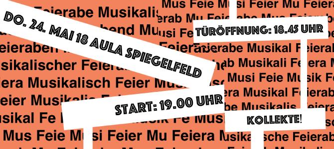Musikalischer Feierabend am 24.05.2018