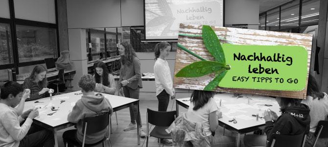 """Workshop """"Nachhaltig leben"""""""