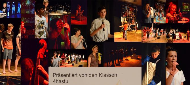 """Fotocollage zum Musical """"CHANGE-CHANCE"""""""